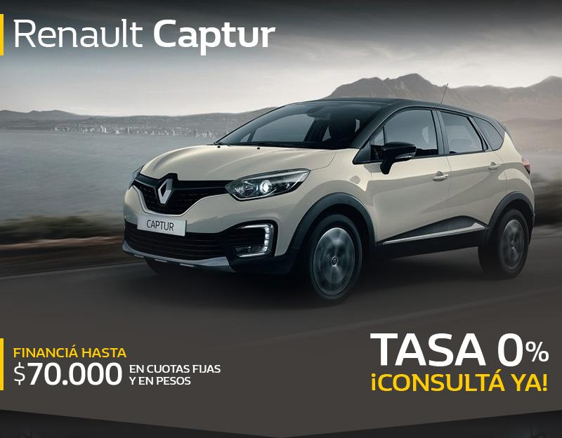 Tu Renault con anticipo + cuotas!